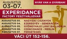 ExperiDance Factory Fesztiváludvar – NYÁR VAN A GYÁRBAN