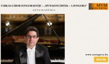 """Farkas Gábor zongoraestje – """"MVM Koncertek – A Zongora"""""""