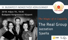 Magic of Acappella, The Real Group, Jazzation, Sjaella