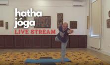 Hatha jóga live stream