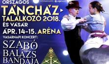 Országos Táncháztalálkozó és Kirakodóvásár záró gálaműsora - Szabó Balázs Bandája