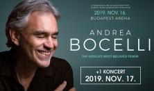 ANDREA BOCELLI 2019. +1 KONCERT