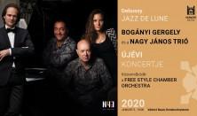 Bogányi Gergely és a Nagy János Trió újévi koncertje - Debussy – Jazz de Lune
