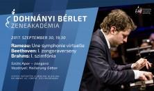 Budafoki Dohnányi Zenekar, Rameau, Beethoven, Brahms