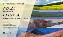 Vivaldi: Négy Évszak, Piazzolla: Négy évszak Buenos Airesben
