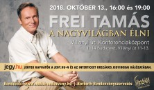 Frei Tamás előadása - A nagyvilágban élni