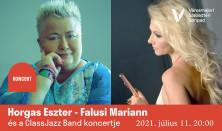 Simply the best / Horgas Eszter – Falusi Mariann és a ClassJazz Band koncertje