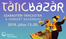 TÁNCBAZÁR - Tüzes magyar és spanyol ritmusok a Várkert Bazárban!