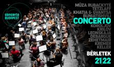 Concerto Budapest – Bérletek