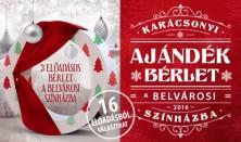 Karácsonyi bérlet a Belvárosi színházban