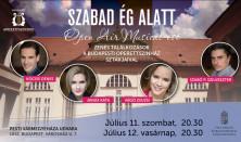 Open Air Operett és Musical Esték a SZABAD ÉG ALATT