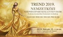 STELLA TREND 2019 - Nemzetközi Fodrász-Kozmetikus kiállítás, vásár, bemutató, workshop