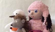 A süni és a kislány
