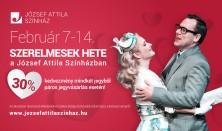 Szerelmesek hete a József Attila Színházban