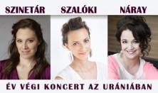 Szinetár - Szalóki - Náray: Óév-búcsúztató koncert