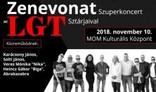 Zenevonat Szuperkoncert az LGT sztárjaival