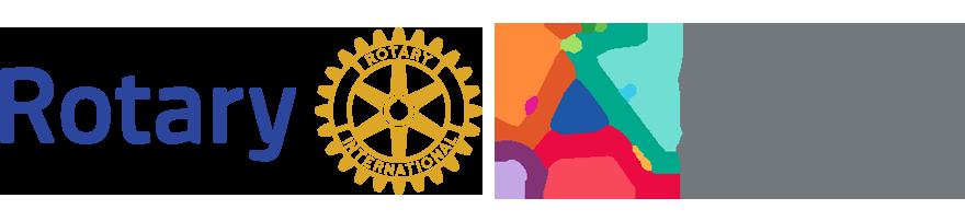 Rotary logó és ROTART logó