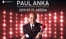 PAUL ANKA koncert - CELEBRATING 60 YEARS OF HITS - HIS WAY