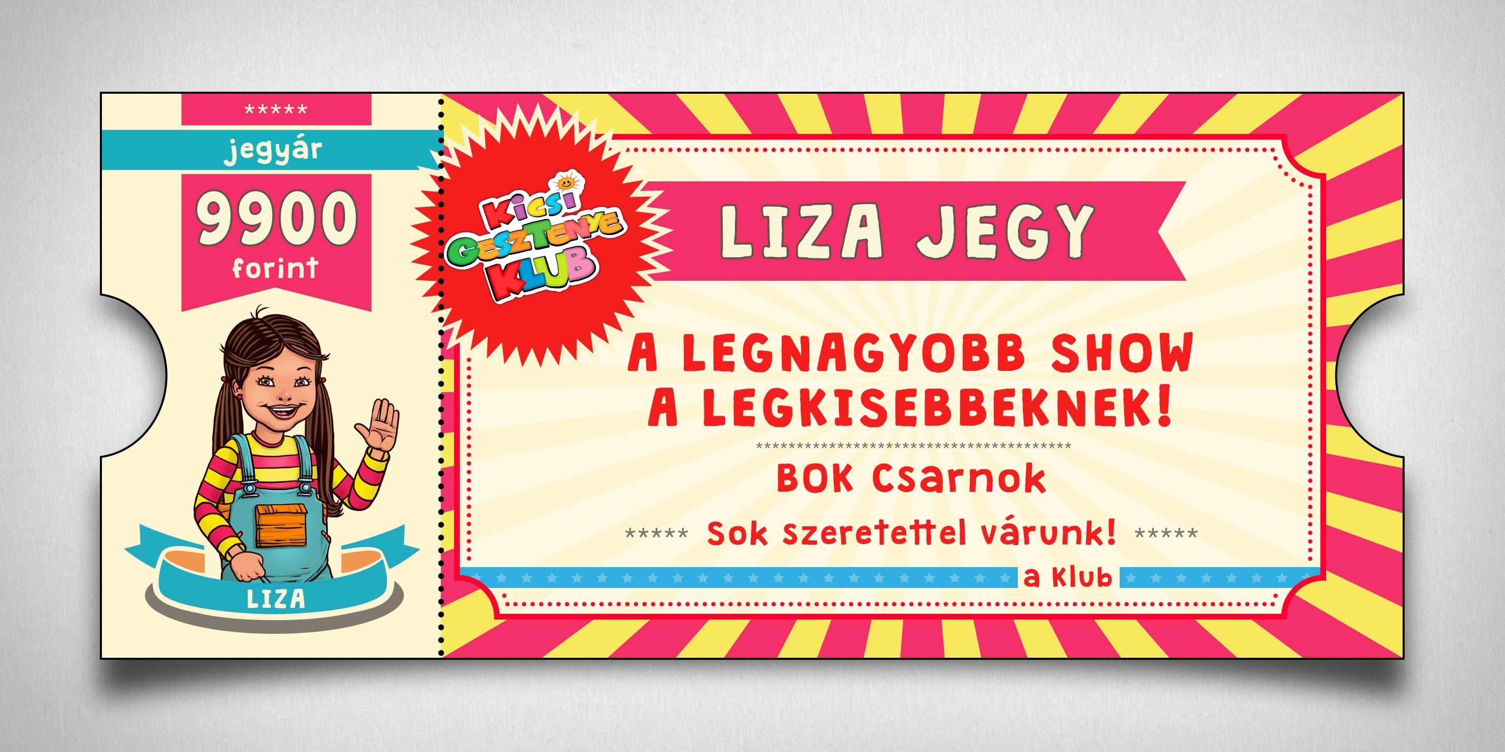 Liza jegy